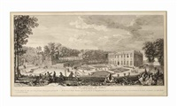 palaces and garden scenes]: twelve plates by jacques rigaud